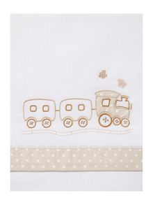 Fabricado En Espana Babies train cot sheet set 170 x 110