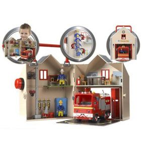 Dlx fire station playset