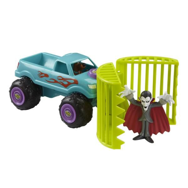 Scooby doo caged monster truck