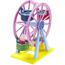 Theme Park Ferris Wheel with Peppa Figure