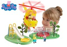 Flying high playset