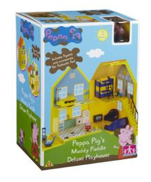 Peppa Pig Middy Puddles Deluxe Playhouse