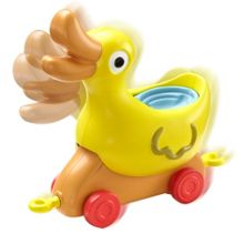 Theme Park Duck Vehicle with Peppa