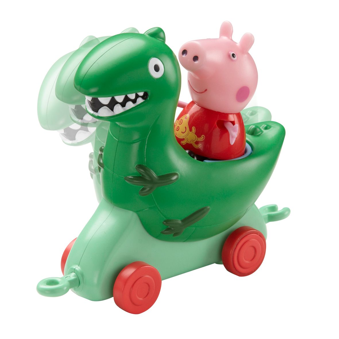 Theme Park Dinosaur Vehicle with Peppa