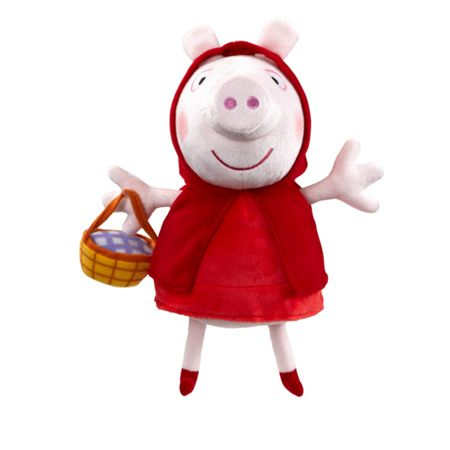 Peppa Pig Supersoft 10 inch Red Riding Hood Peppa