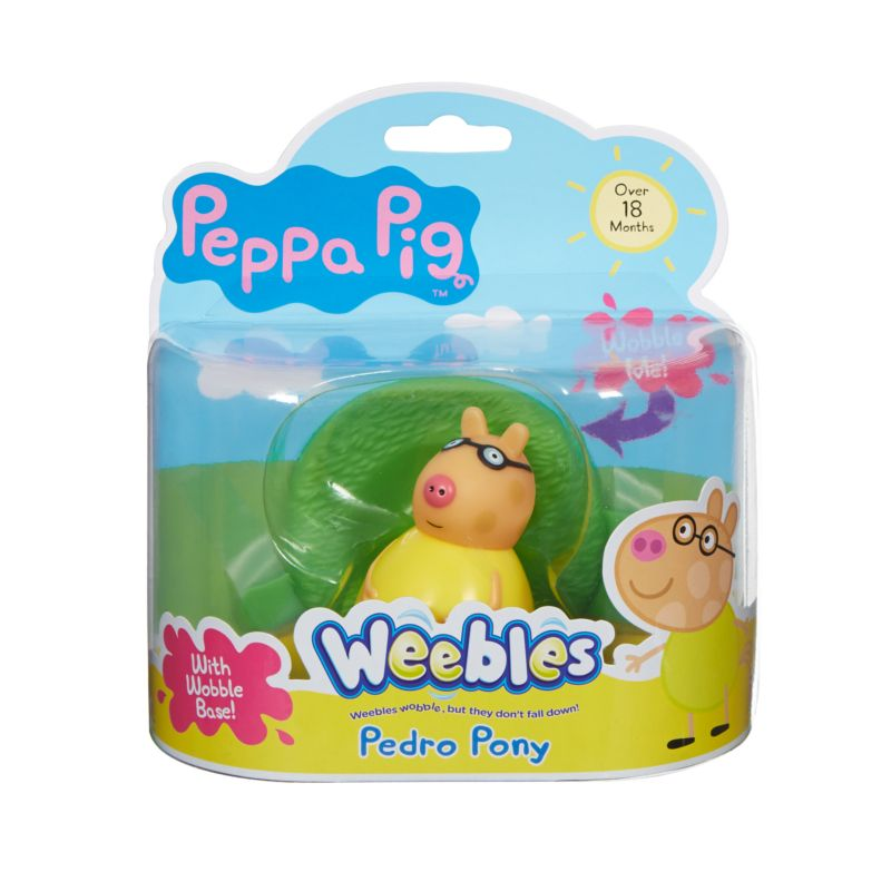 Weebles Wobbily Figure and Base - Pedro Pony