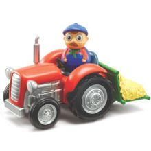 Weebledown Farm Wobbily Tractor With Barleymow Weeble