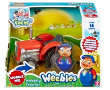 Wobbily Tractor With Barleymow Weeble