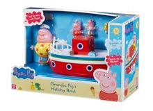 Peppa Pig Grandpa pig`s holiday boat