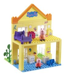 Peppa Pig Deluxe Peppa`s House Construction Set