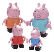 Peppa Pig Family Figure Construction 4 Pack