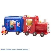 Peppa Pig Miss Rabbit`s Train and Carriage Set