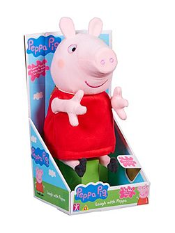 Laugh With Peppa Soft Toy