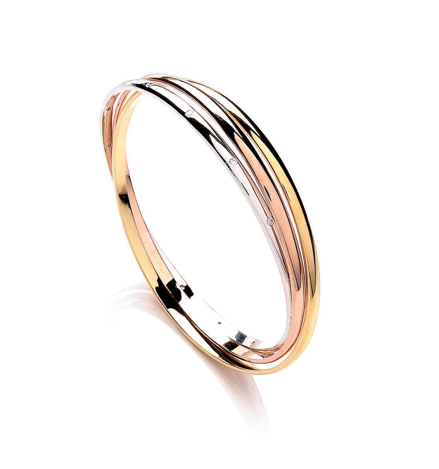 Russian trio bangle