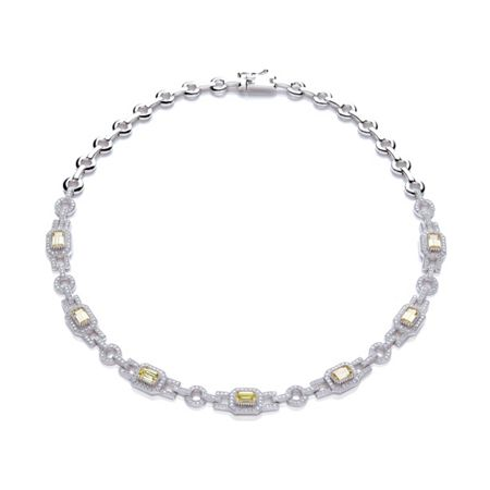 Bouton Cushion stone links collar