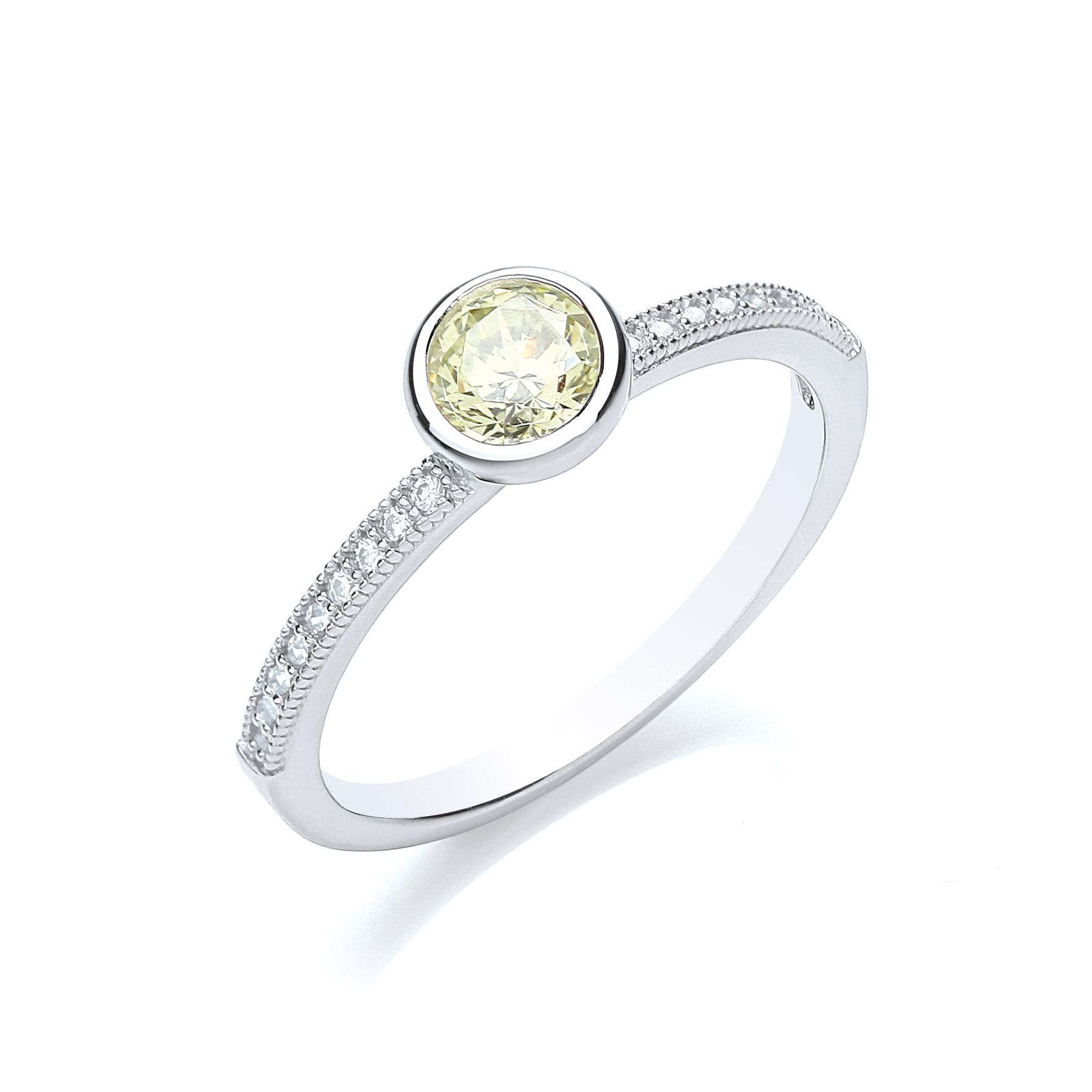 bouton stacker ring brilliant