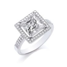 Bouton Princess ring