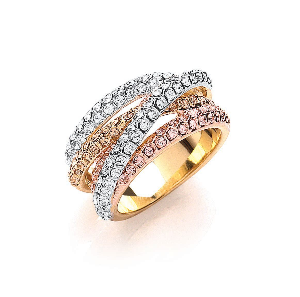 buckley london russian sparkle strand ring