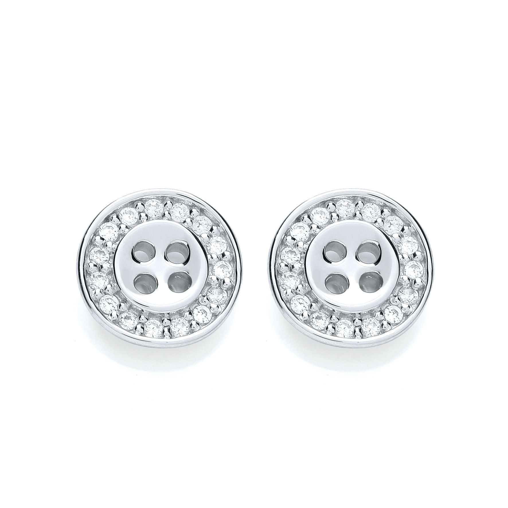 Classic bouton stud earrings