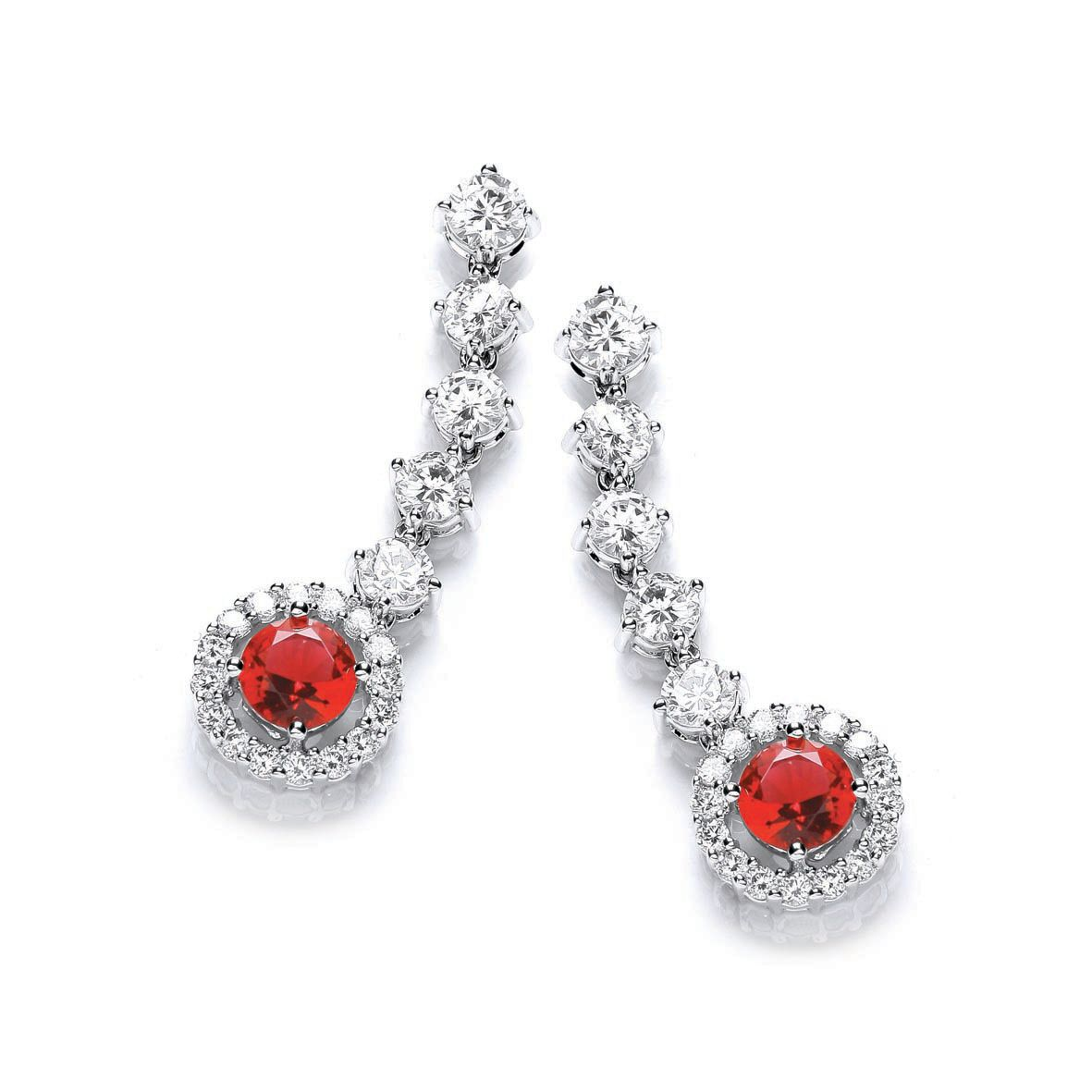 Windsor roulette drop earrings