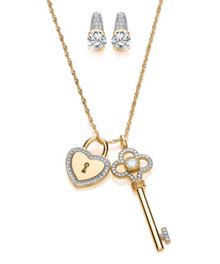 Bouton Bouton key and locket set