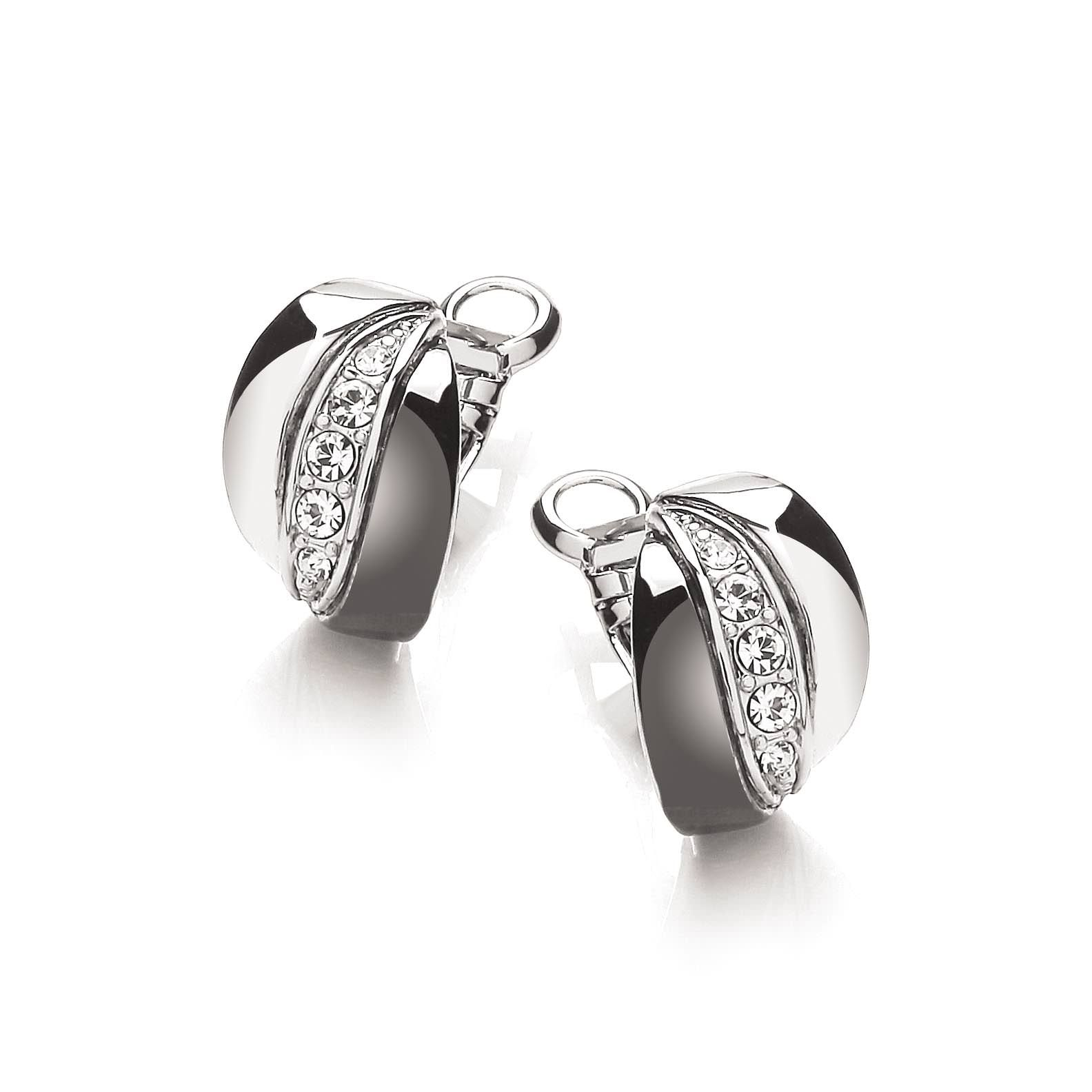 buckley london black rhodium russian earrings