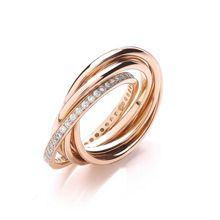 Multi Strand Wrapped Ring