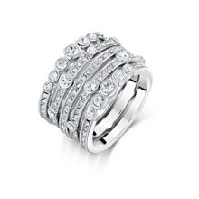 Waterfall Stacker Ring