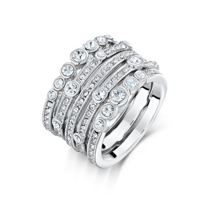 Attwood & Sawyer Waterfall Stacker Ring