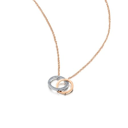 Buckley London Linked loop pendant