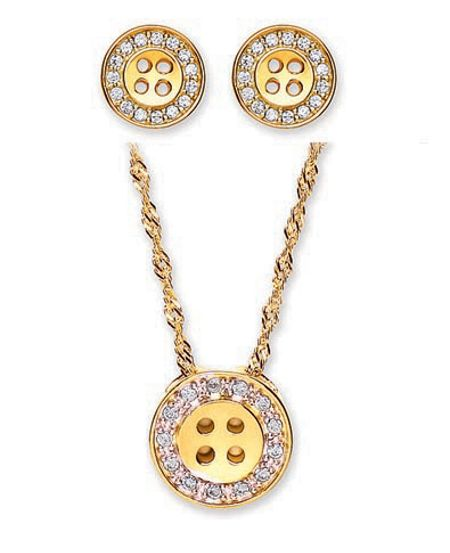 Buckley London Classic Pendant Earring Set