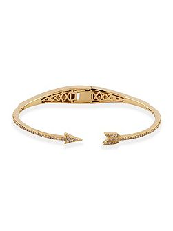 Metropolitan arrow bangle