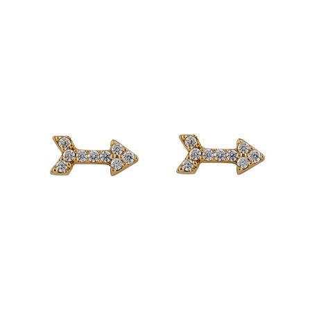Buckley London arrow earrings