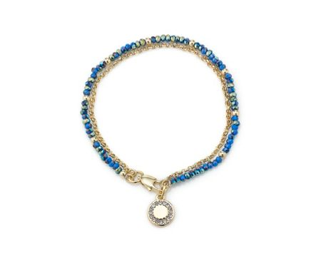 Buckley London Royal blue camden bracelet