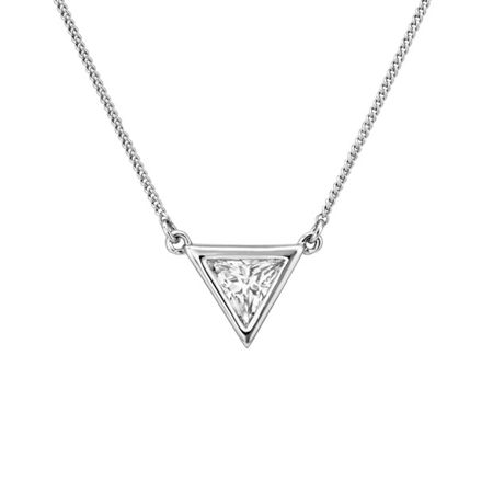 Buckley London Trillion pendant