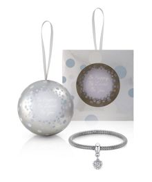 Buckley London Christmas bauble bracelet