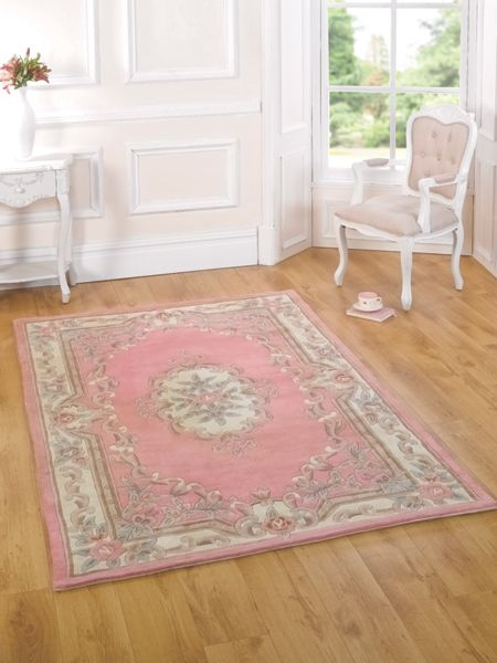 Flair Rugs Aubusson pink rug 75x150