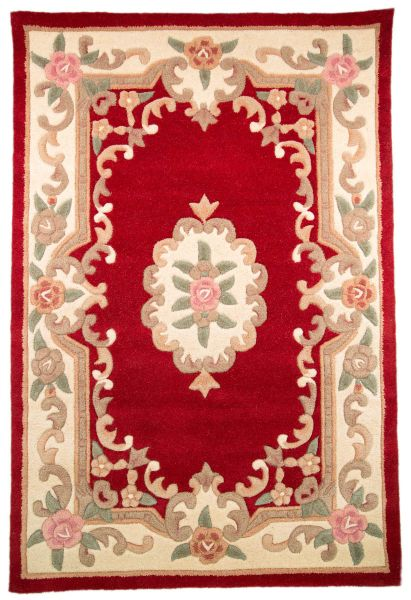 Flair Rugs Aubusson red rug 75x150