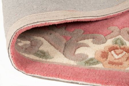 Flair Rugs Aubusson pink rug 150x240