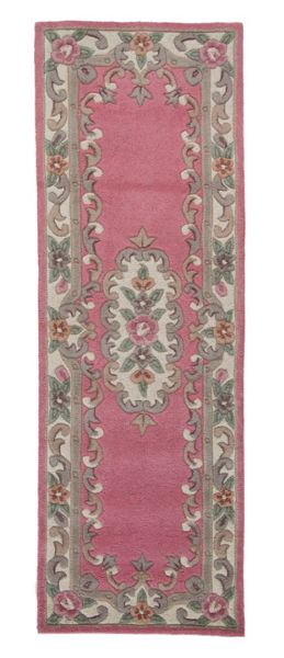 Flair Rugs Aubusson pink rug 67x210