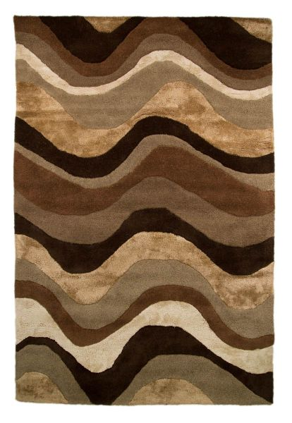 Flair Rugs Saria Brown/Taupe Rug 90X150