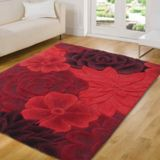 Flair Rugs Eden Red Rug 90x150cm