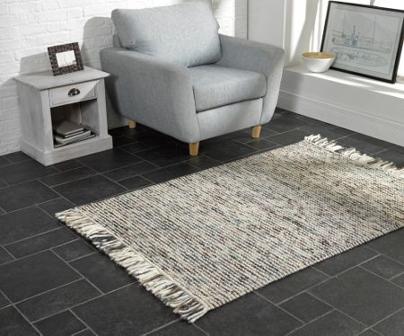 Flair Rugs Maya Brown/Blue Rug 120X170