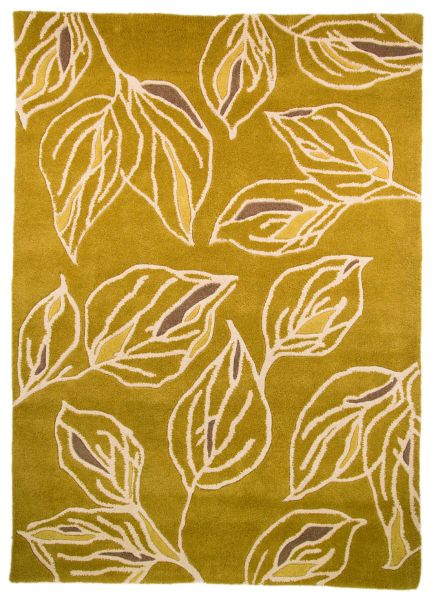 Flair Rugs Branches Green/Grey Rug 160X230