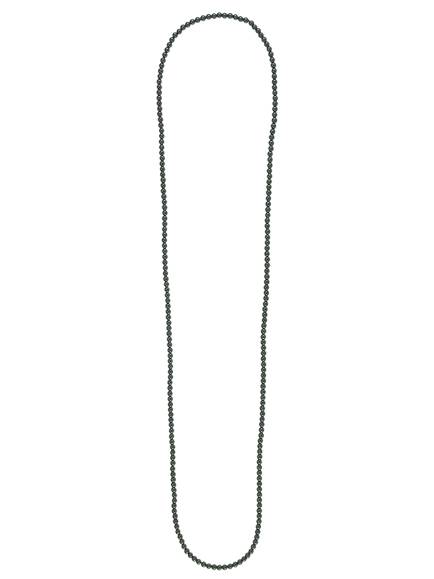 French Connection Pearl rope necklace