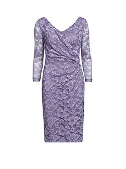 Stretch lace with sequins dress