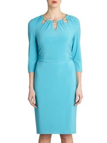 Ps jersey dress with neck trim