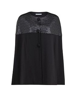 Matt sequin and ponti cape