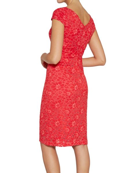 Gina Bacconi Stretch lace dress