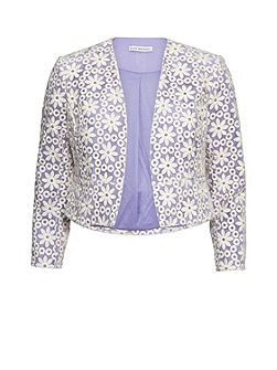 Daisy embroidered jacket